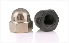 GB923 Nickel-plated cap nuts half round Hexagon nuts M3 M4 M5 M6 M8 M10 M12 Decorative nut ball screw cap