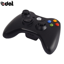 EDAL Gamepad 2.4G Wireless Gamepad For XBOX 360 Controller New Black And White Bluetooth Handle Joystick(China)