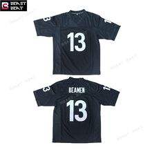 Willie Beamen #13 Any Given Sunday Sharks American Throwback Football Jersey Beast Beat Sports Black Top Mens futebol americano(China)