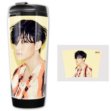 HOT SALE Grace Hector super junior Devil  Models Double Insulation Plastic Good Quality Mug Coffee Cup Space Cup BZ681