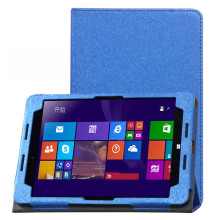 Fashion Solid PU leather Protective Folding Folio Case for HP Pro Tablet 608 Z8500 7.9'' Cover Case(China)