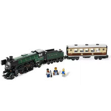 LEPIN series the Emerald Night model building blocks set Classic compatible Steam trains Toys Christmas Educational Funny Gift