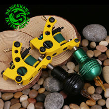 2 pcs Professional Tattoo Machines 10 Wraps Coil Tattoo Gun Liner Shader  2 Pcs Tattoo Grips Free Gift