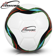 CROSSWAY school children football ball size 3 soccer Match Team ball Games fitness Training soccer Ball Teenager gift balones361(China)
