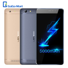 5000mAh LEAGOO Shark 5000 3G WCDMA Smartphone MTK6580A Quad Core 1.3Ghz Android 6.0 1GB+8GB 13.0MP+8.0MP 5.5inch HD Mobile Phone