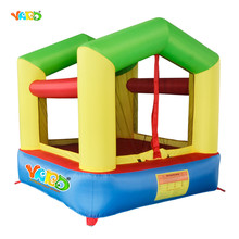 YARD Nylon Mini Bouncy Castle Inflatable Bounce House Trampoline Home Use Inflatable Bouncer Jumping Bouncer for Kids(China)