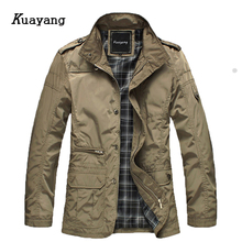 New Arrival Fashion Thin Men Jacket Coat Hot Sell Casual Wear 4XL Korean Comfort Spring Necessary Y00106(China)