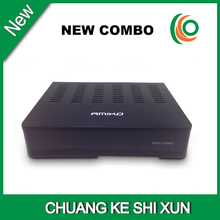 MPEG-4 H.264 receiver dvb-s2 dvb-t2 dvb c Amiko mini combo receiver(China)