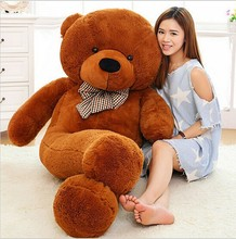 "Brand New 5Colors Giant Teddy Bear Soft Adult Coat Plush Toys Wholesale Price  JUMBO 72"" size:180cm Valentine's day gifts"