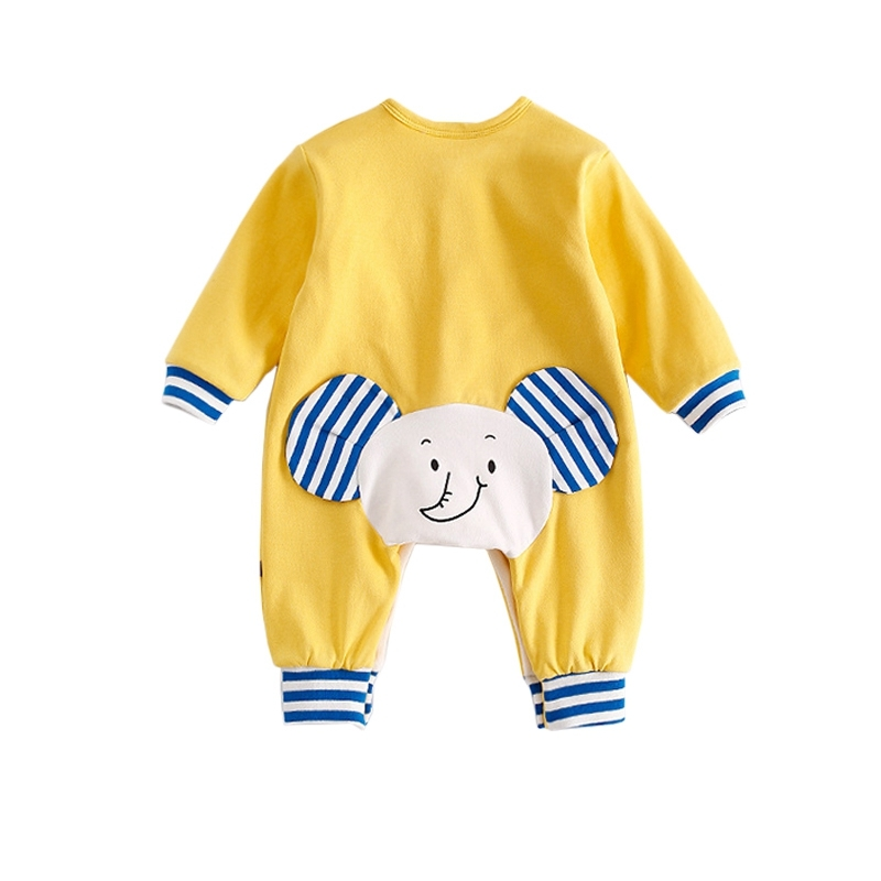 Baby Girls Boys Outfits Coverall For Winter Long Sleeve Cute Animal Cartoon Baby Clothing Casual Cotton Toddler Infant Rompers<br>