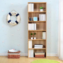 Bookcases Living Room Furniture Home Furniture panel bookcase bookshelf with drawer cabinet hot new whole sale 180*60*24cm(China)