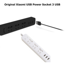 Original XiaoMi Power Strip 3 USB Charging Ports Mi Power Socket Adapter Smart Mi USB Multifunctional Smart Home Electronics