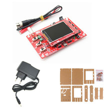 Free Shipping 2.4 tft Assembled Soldered DSO138 DIY Digital Oscilloscope Kit STM32 Tester with Acrylic Case Power