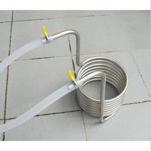 5 meter length Beer Brew Stainless Steel Coil Tube Heat Exchanger homebrew wort chiller