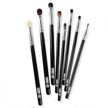 women fashion 1 set/8 pcs makeup brush makeup cosmetic tools beauty eye shadow brush