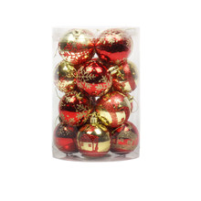 kerstballen christmas ornaments christmas balls 16pcs Tree Hanging Decorations u71115(China)