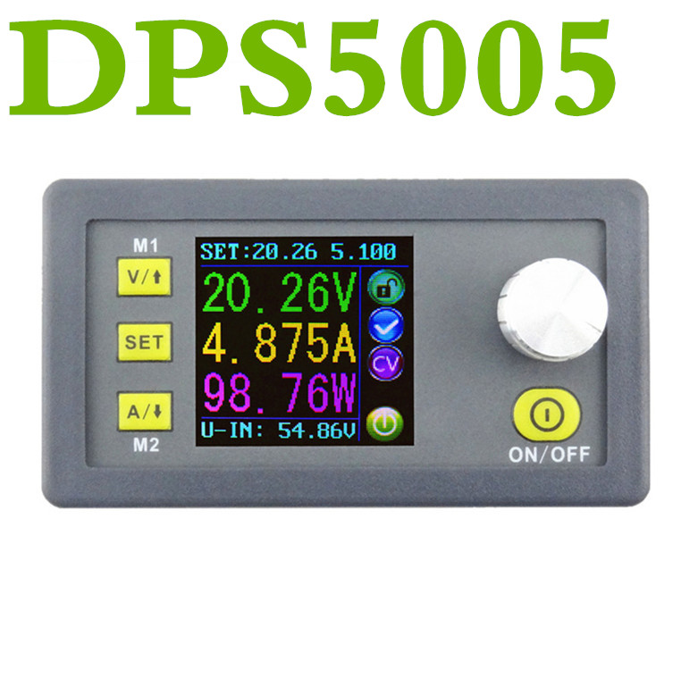 DPS5005 Digital LCD Display Constant Voltage Current Step-down Programmable control Power Supply Module Ammeter Voltmete 50% off<br>