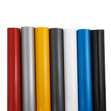 100mmX1520mm DIY Car Styling 4D Thicken 3M Car Carbon Fiber Vinyl Wrapping Film Car Stickers Waterproof With Air free bubbles(China)