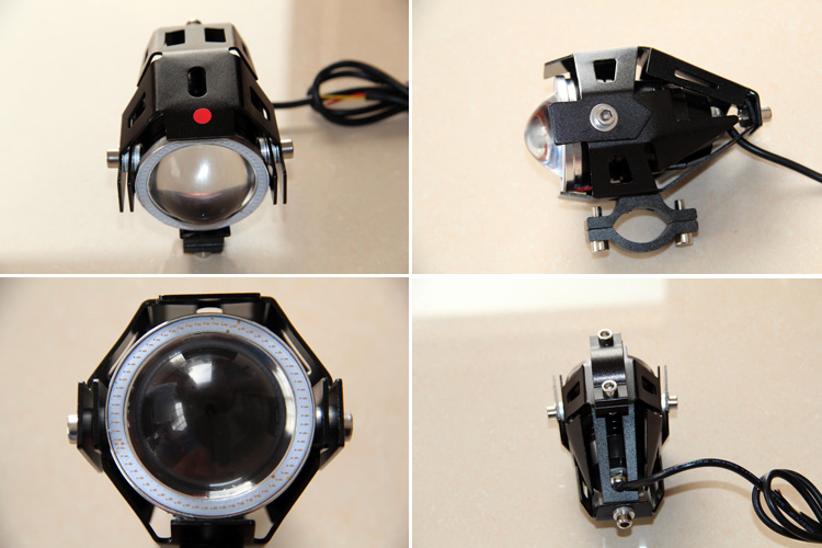 1pcs Motorcycle Headlight 3000LMW Upper Low Beam &amp;Flash CREE led chip u5 U7 Driving car Fog Spot Head Light Lamp for cbr 600 400<br><br>Aliexpress