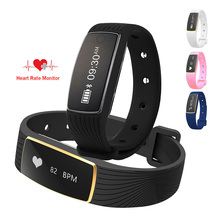 Smart Wristband Bracelet Wireless Bluetooth Waterproof Band Support Dynamic Heart Rate Monitor Calories for Smartphone PK ID107