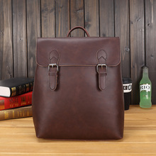 New men's backpack, Korean fashion travel bag, leisure bag, retro baggage bag(China)