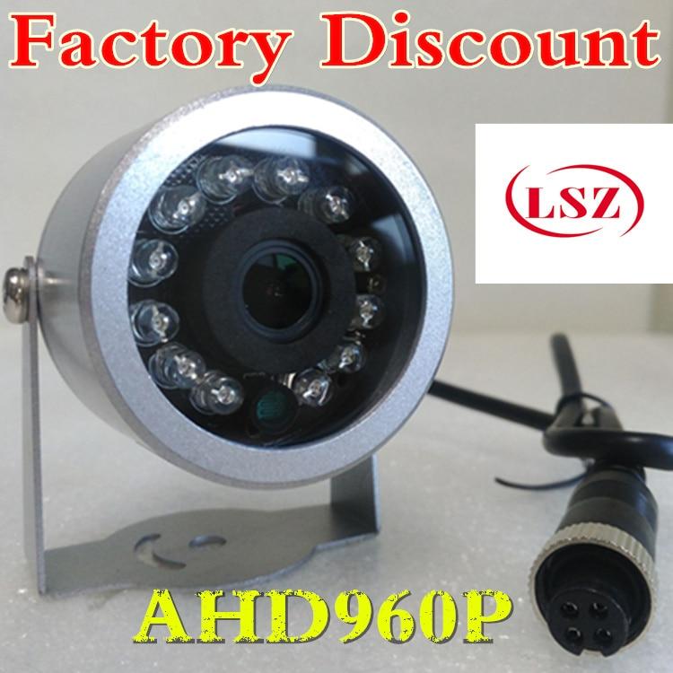 HD infrared car camera  AHD 960P  aviation head interface  truck reversing image surveillance camera<br>