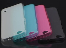cunzhi Wholesale Cover TPU Soft Silicone Case For ZTE Blade S6 Q5 Cell Phones Bag Candy Jelly Color (Gift Touch Pen)(China)