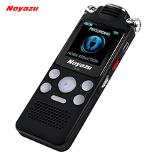 NOYAZU V59 Steel Stereo Record 8G Digital Voice Recorder Voice Activated Recorder Dictaphone Audio Recorder Mp3 Russian Language