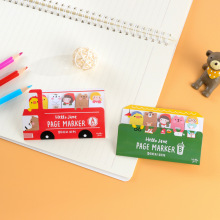 1pcs BZNVN South Korea stationery happy bus cartoon creative notes