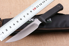 High Quality Cold Steel Fixed Survival Knife 5CR15MOV Blade ABS Handle Hunting Knife Tactical Nylon Sheath