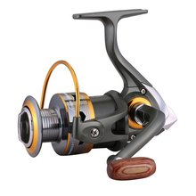 FDDL Eleven Axles Ball Bearing Full Metal Rocker Arm Shaft Fishing Reel Fishing Ship Line Spin Reels DK1000-7000 Series Hot(China)