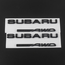HB 3D Excellent Smooth Glossy Metal STI Emblem Badge Sticker for Subaru STI WRX Car Styling Accessories