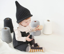 Toddler boy hat baby Winter Children baby beanie hats Kids lovely Knitted caps free size(China)