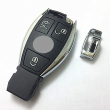 Replacement Remote Control Key Cover for Mercedes Benz Smart Key blank without ship inside for benz smart key shell