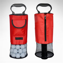 NEW Golfs Bags Portable Golf Ball Picker Pick-Ups Retrievers Storage Bag Scooping Device Golf Bags Golf Ball Pick-Up Tool Bag(China)