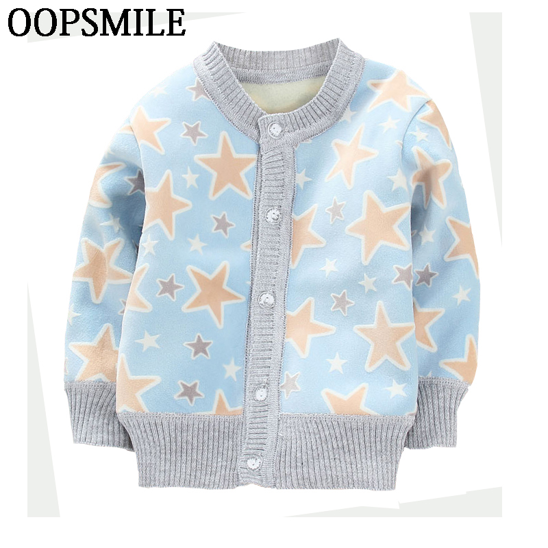 Girls Jacket Spring Autumn cartoon car infant baby boys Jackets Girls boys knitted coat Kids Outerwear Children Clothes