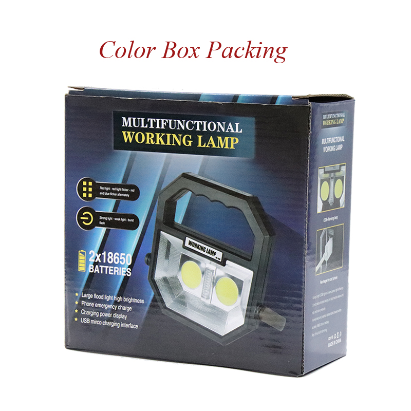 Color box packing