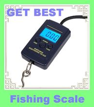 WEIHENG  40kg x 10g Mini Digital Scale for Fishing Luggage Travel Weighting Steelyard Hanging Electronic Hook Scale A01L