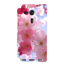Luxury Painting Coque Cover For Sony Xperia SP M35H C5302 C5303 C5306 Drawing Phone Shell Back cover Ultra Thin Protector Case(China)