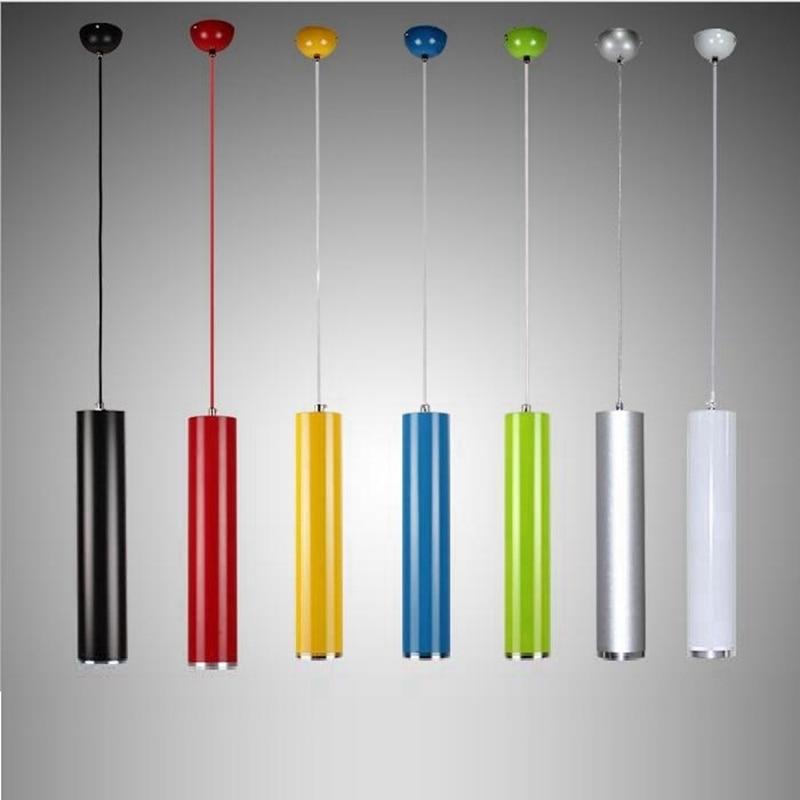 LukLoy Pendant Lamp Lights Kitchen Island Dining Living Room Shop Decoration, Cylinder Pipe Pendant Lights Kitchen Light<br>