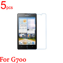 5pcs Glossy Ultra Clear/Matte LCD Screen Protector Film Cover for Huawei Ascend G700 G300 U8818 G500 Pro U8836D G535 G350 Film