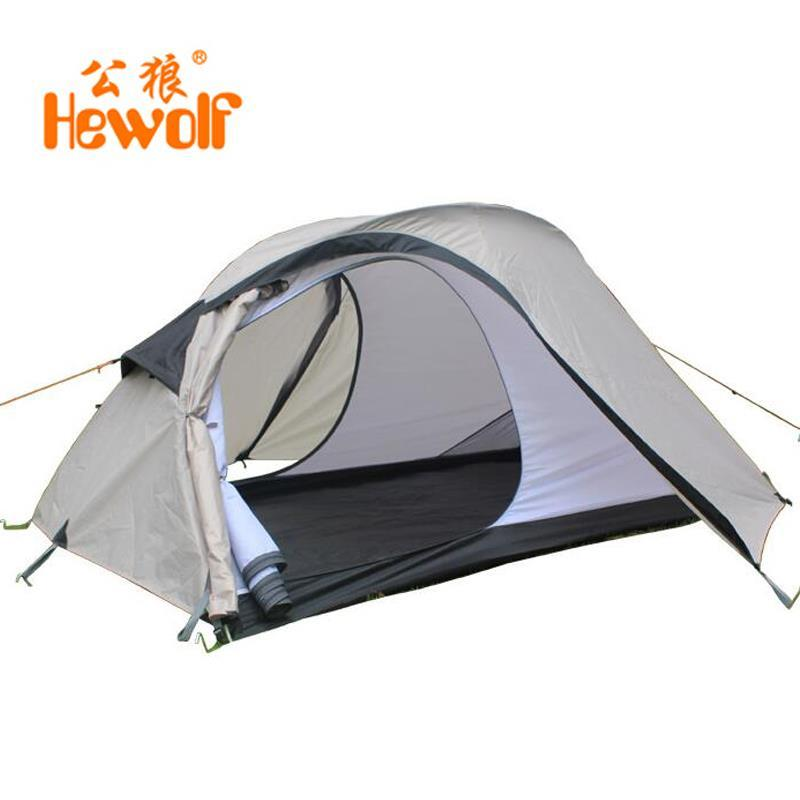 HeWolf Beach Tent 1-2 person tourism tents Waterproof Nylon Foldable Portable camping tent<br><br>Aliexpress