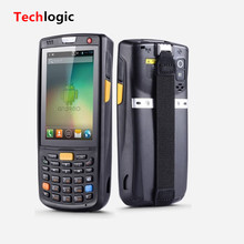 Techlogic 9V Wifi Bluetooth Android 4G GPS Logistics 1D Barcode Scanner Handheld Terminal Barcode Scanner Multifuctional PDA