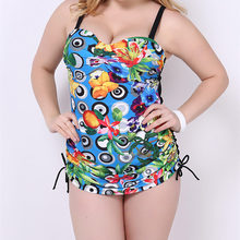 Plus Size L-4XL Women Sexy Backless One Pieces Swimsuit Monokini Push Up Floral Printed Swimwear Scrunch Bathing Suit Beach Wear