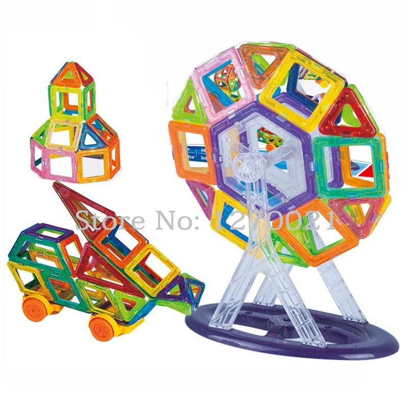Mini 78PCS Magnetic Building Blocks Toys DIY Models Magnetic Designer Learning Educational Plastic Bricks Children Toys<br><br>Aliexpress