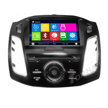 New 9inch Car Radio DVD For Ford Focus 2012- with GPS Navigation Multimedia System Bluetooth Map(China)