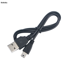 kebidu NEW Mini USB 2.0 A Male to Mini 5 Pin B Charge Data Cable Adapter For MP3 Mp4 Player Digital Camera phone