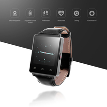 NO.1 D6 Android 5.1 Smart Watch Phone 1.63 inch MTK6580 Quad Core 3G GPS Smartwatch 1G 8G Heart Rate Monitor for Android IOS(China)