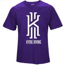 2016 summer new KYRIE IRVING basket ball t shirt men women casual short tees CAVS tshirt homme sprotswear camiseta hombre XS-2XL(China)