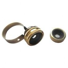3 in 1 Universal Mobile Phone Camera Aluminum Fisheye Wide-angle Lens Macro Lens Mobile Phone Lens for IPhone for Samsung Lenses